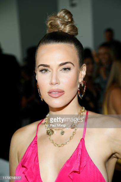 Perry attends the Kyle & Shahida front row during New York Fashion Week at Pier 59 Studios on September 08, 2019 in New York City.