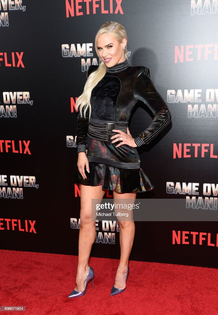 """Premiere Of Netflix's """"Game Over, Man!"""" - Arrivals : News Photo"""