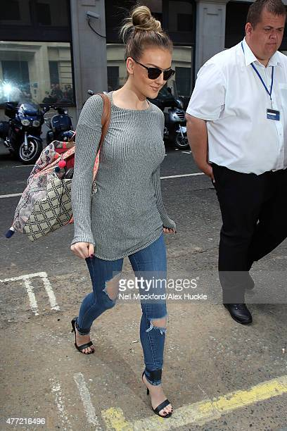 Perry Edwards from Little Mix seen at BBC Radio 2 on June 15 2015 in London England