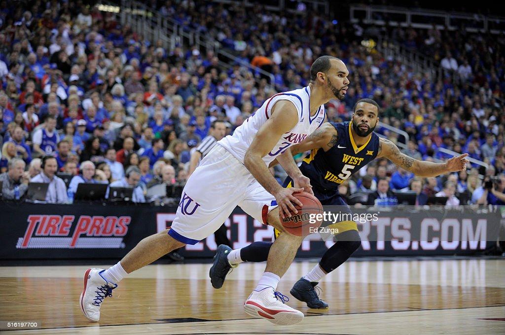 Big 12 Basketball Tournament - Championship : News Photo