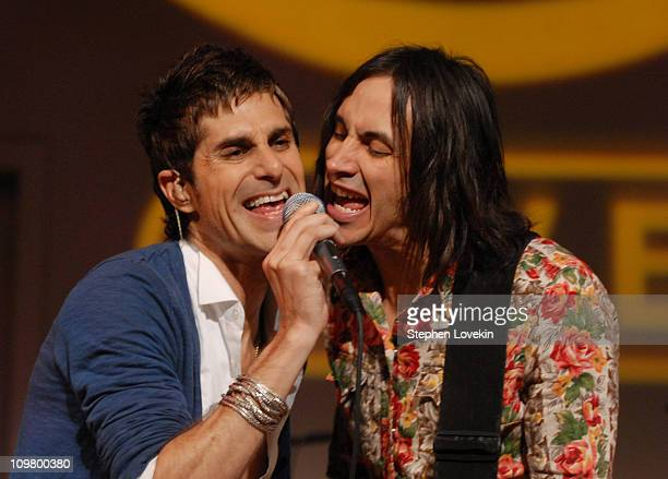 Perry Farrell and Nuno Bettencourt of Satellite Party