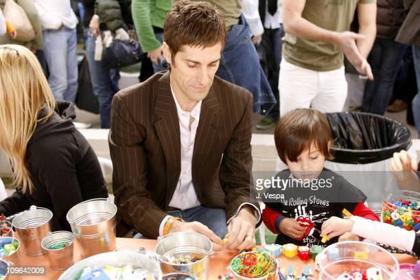 Perry Farrell and son during The John Varvatos 4th Annual Stuart House Charity Benefit Inside at John Varvatos Boutique in Los Angeles CA United...