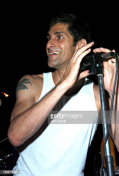 Perry Farrell during Kelly Slater Invitational Fiji Day 3 Dinner and Party at Namotu Resort at Namotu Resort in Tavarua Island Fiji