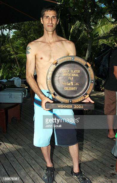 Perry Farrell during Kelly Slater Invitational Fiji Day 4 Celebrity ProAm Presented by Quiksilver at Restaurants in Tavarua Island Fiji