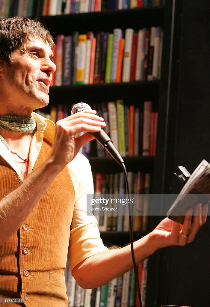 Perry Farrell during The Doors 40th Anniversary Celebration - Reading with John Densmore and Perry Farrell at Book Soup in Hollywood, California, United States.