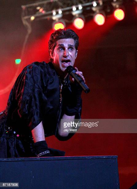 Perry Farrell of Jane's Addiction performs in concert at The Frank Erwin Center on May 12 2009 in Austin Texas