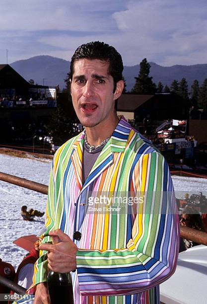 Perry Farrell of Porno for Pyros at Lifebeat benefit Big Bear California March 12 1995