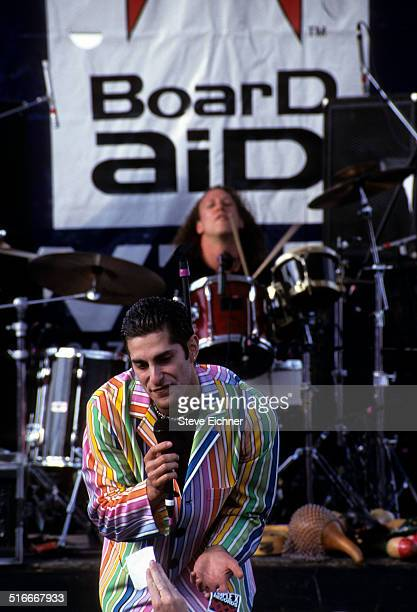Perry Farrell of Porno for Pyros at Lifebeat benefit New York March 12 1995