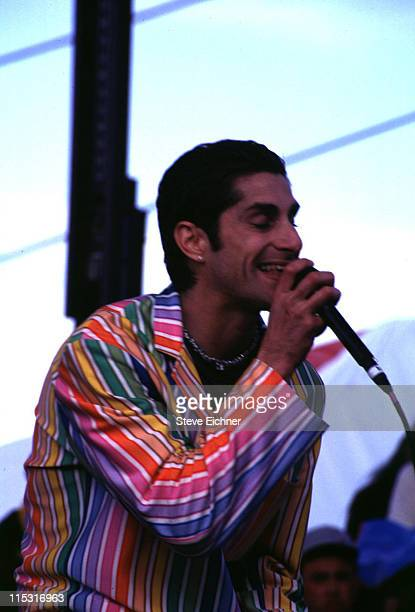 Perry Farrell of Porno For Pyros during Board Aid Lifebeat Benefit 3151995 at Big Bear California United States