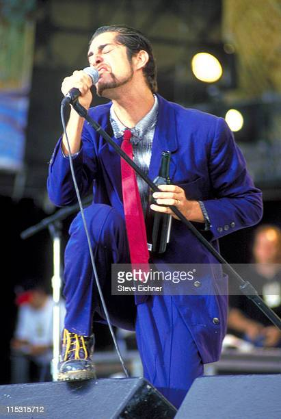 Perry Farrell of Porno for Pyros during Woodstock '94 in Saugerties, New York - August 1994 in Saugerties, New York, United States.