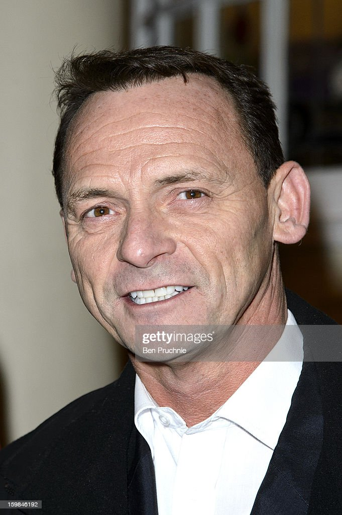 Perry Fenwick attends the opening night of The Rocky Horror Picture Show at New Wimbledon Theatre on January 21, 2013 in Wimbledon, England.