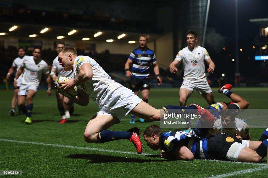 Worcester Warriors v Bath Rugby - Aviva Premiership : News Photo