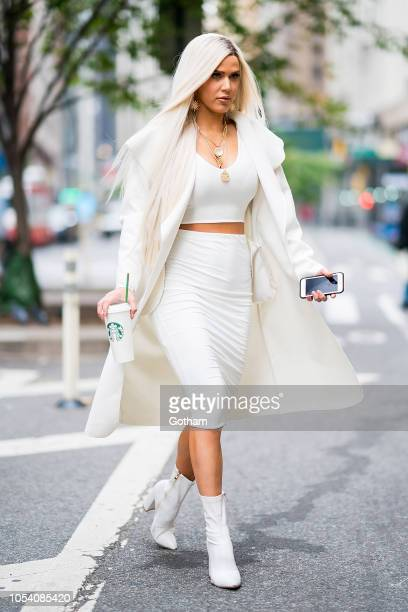 Perry is seen in Midtown on October 26 2018 in New York City
