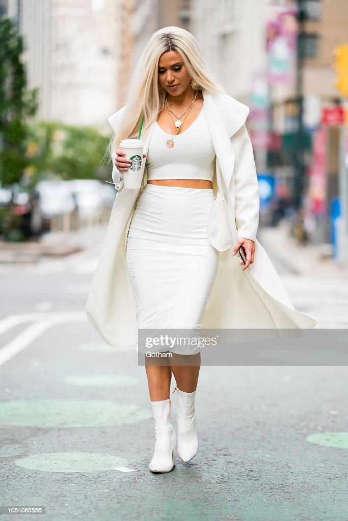 Celebrity Sightings in New York City - October 26, 2018 : News Photo