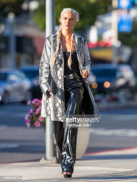 Perry is seen on September 14 2018 in Los Angeles California