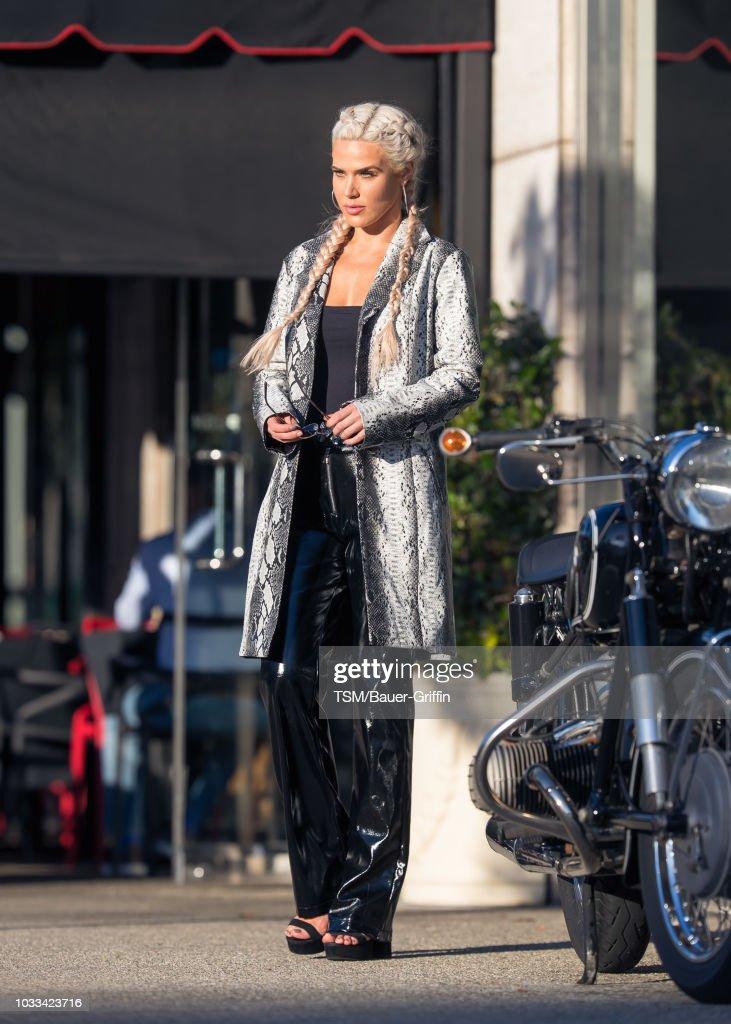 Celebrity Sightings In Los Angeles - September 14, 2018 : News Photo