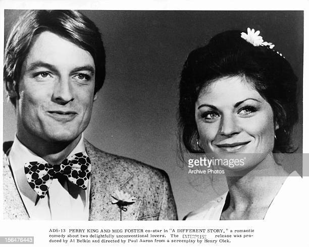 Perry King And Meg Foster in a scene from the film 'A Different Story' 1978