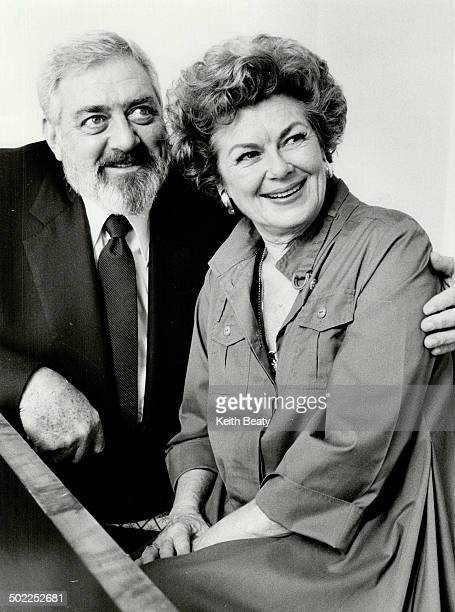 Perry Mason returns Raymond Burr and Barbara Hale above on the set of the original Perry Mason series in 1963 and below during filming of their new...