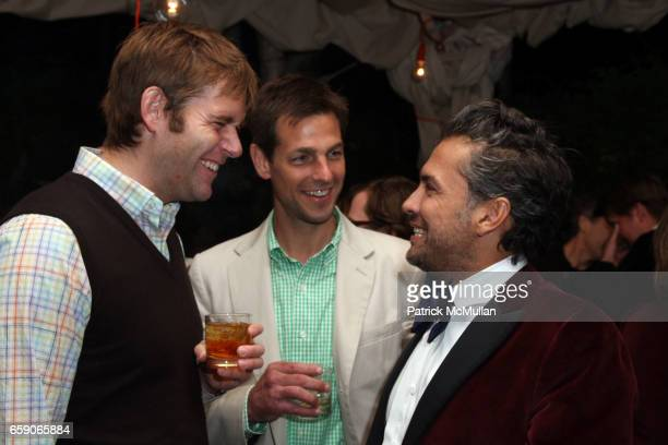 Perry Moore guest and Carlos Mota attend Screening of Magnolia Pictures JULIA after party hosted by ALLISON SAROFIM and STUART PARR at Private...