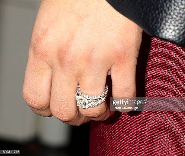 Perry ring detail attends Build Presents to discuss 'Total Diva's' at AOL HQ on December 12 2016 in New York City