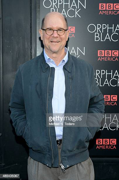 Perry Simon attends the Orphan Black premiere at Sunshine Cinema on April 17 2014 in New York City