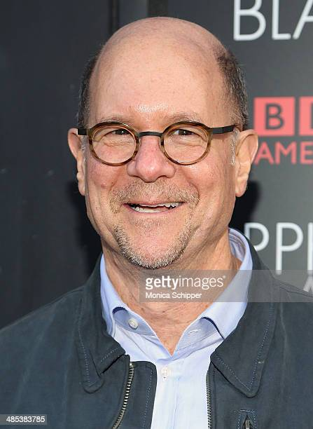 Perry Simon General Manager BBC America attends the Orphan Black premiere at Sunshine Cinema on April 17 2014 in New York City