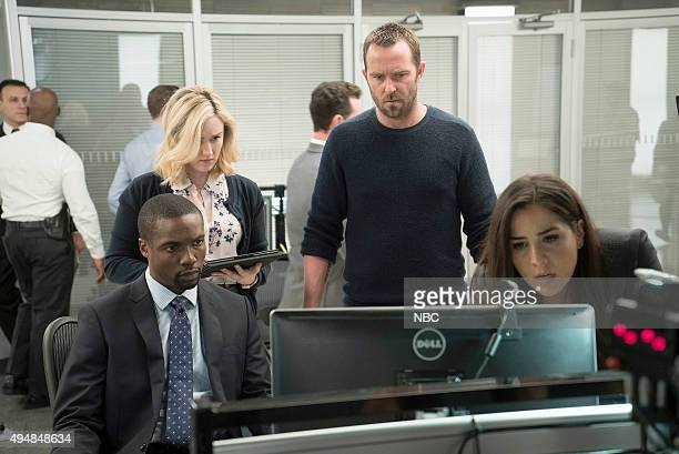 BLINDSPOT Persecute Envoys Episode 108 Pictured Rob Brown as Edgar Reed Ashley Johnson as Patterson Sullivan Stapleton as Kurt Weller Audrey Esparza...