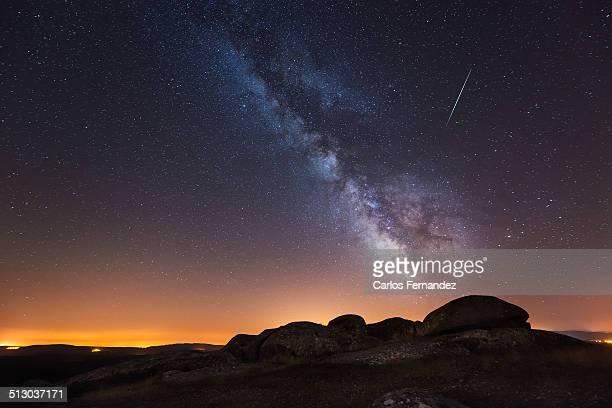 Perseid and Milky Way
