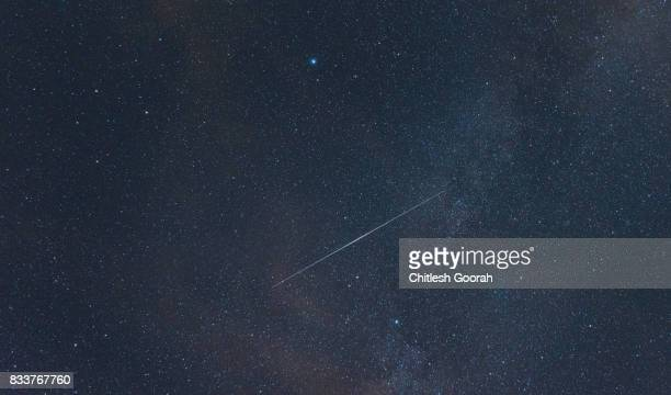 Perseid Meteor on the sky