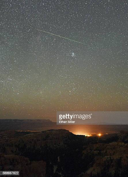 The Annual Perseid Meteor Shower From Bryce Canyon National Park