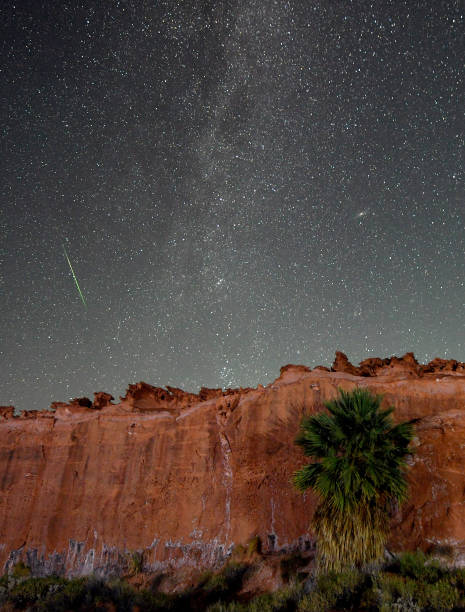 NV: The Annual Perseid Meteor Shower From Gold Butte National Monument