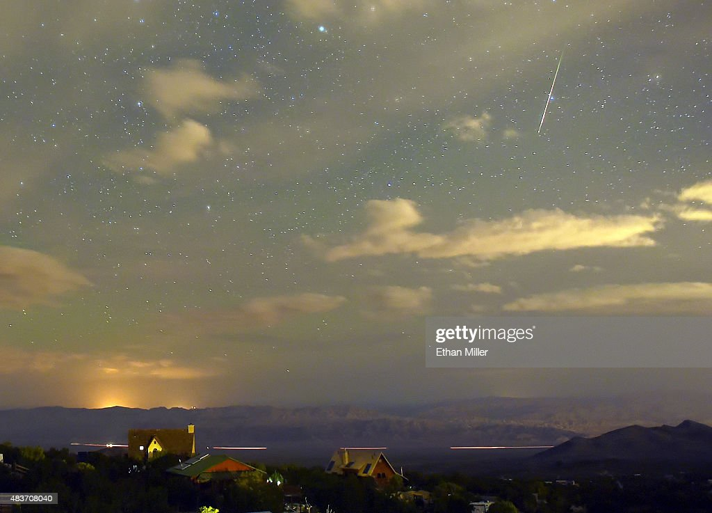 The Annual Perseid Meteor Shower : News Photo