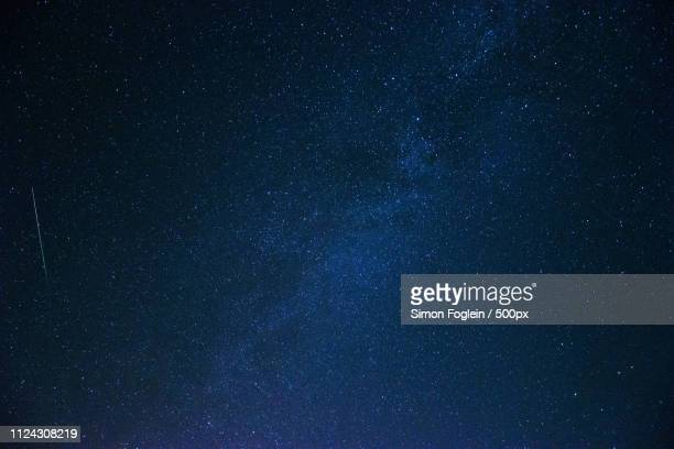 perseids - star field stock pictures, royalty-free photos & images