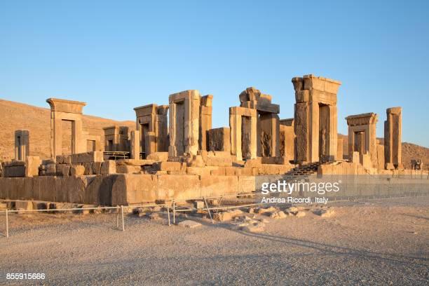 persepolis, ancient capital of persian empire, iran - shiraz stock pictures, royalty-free photos & images