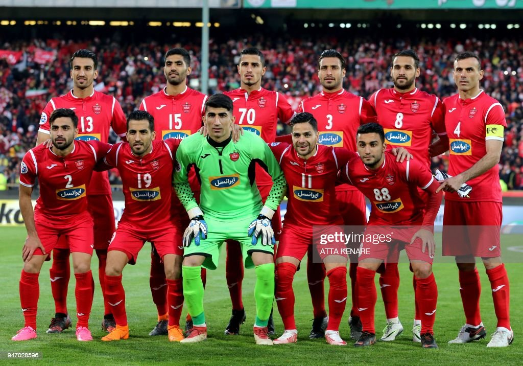 Persepolis Starting Eleven Pose For A Team Photo Ahead Of The Afc News Photo Getty Images
