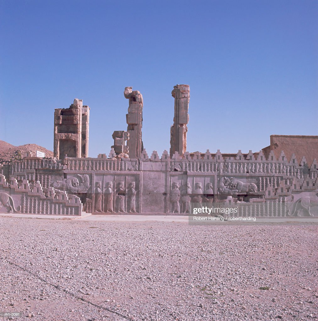 Persepolis, UNESCO World Heritage Site, Iran, Middle East : Stockfoto