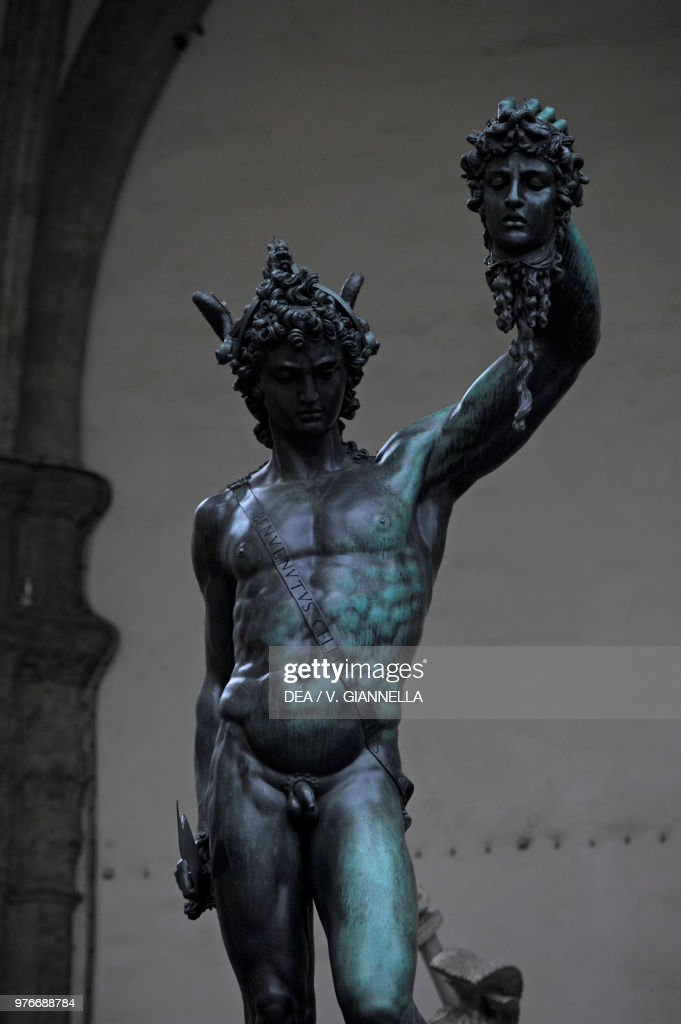 Perseus With The Head Of Medusa 1545 1554 Statue By