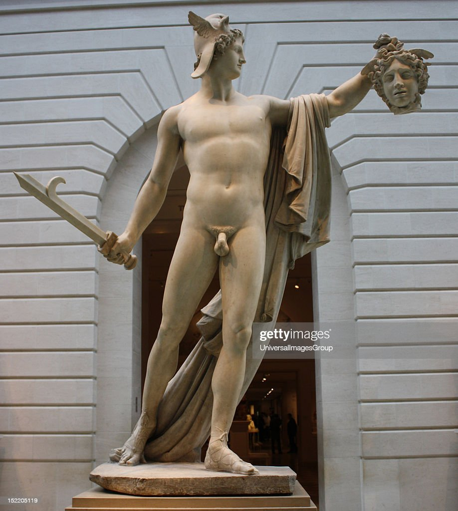Perseus With The Head Of Medusa Marble Antonio Canova