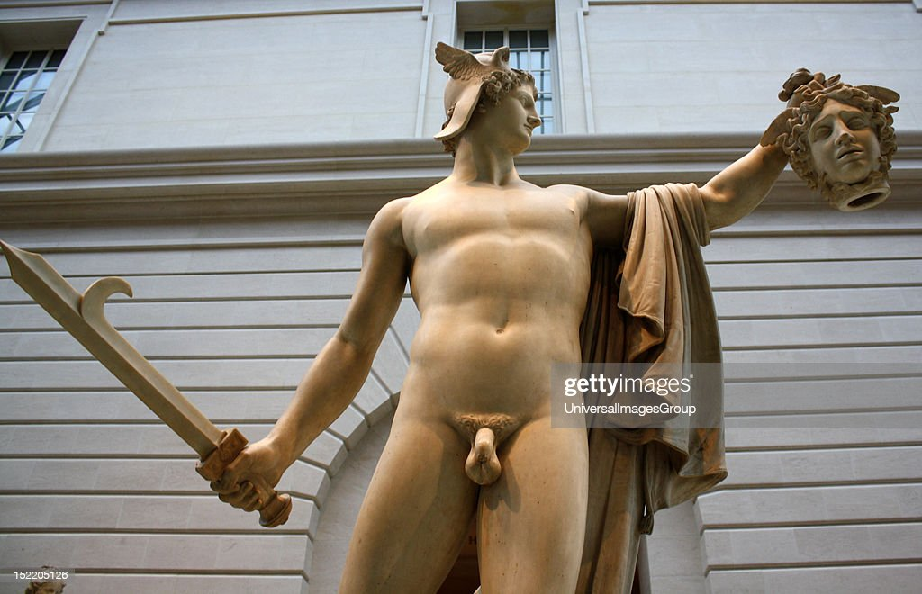 Perseus With The Head Of Medusa Marble Antonio Canova Born