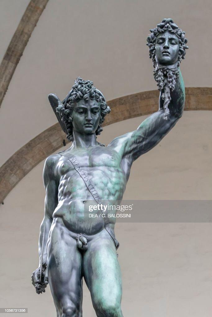 Perseus With The Head Of Medusa Statue By Benvenuto Cellini