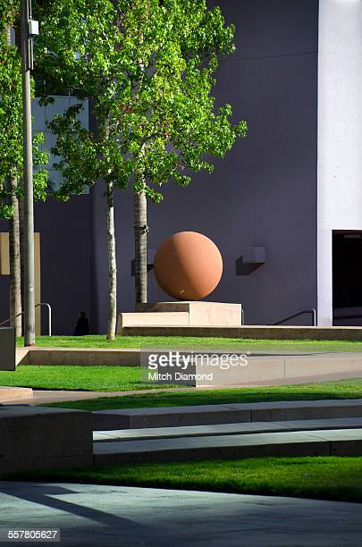 pershing square in downtown l.a. - pershing square stock photos and pictures