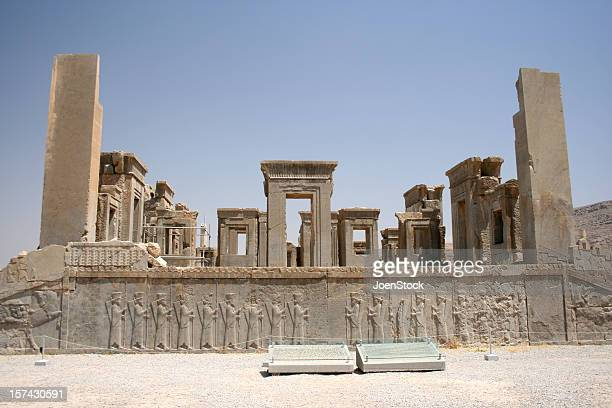 persia ancient persepolis unesco site in iran - alexander the great stock pictures, royalty-free photos & images