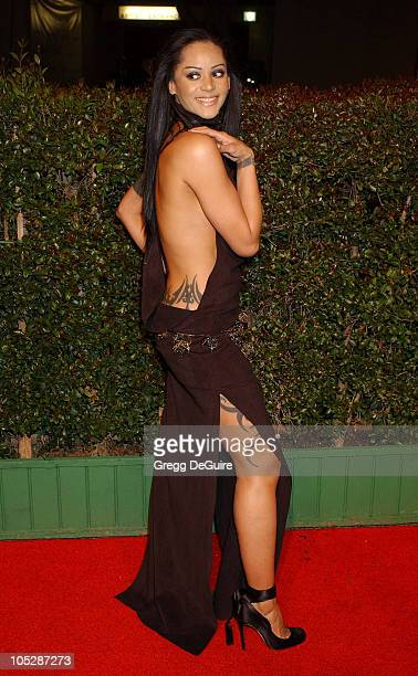 Persia White during 35th NAACP Image Awards Arrivals at Universal Ampitheatre in Universal City California United States