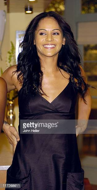 Persia White during Girlfriends Celebrates Its 100th Episode at Paramount Studios in Hollywood California United States