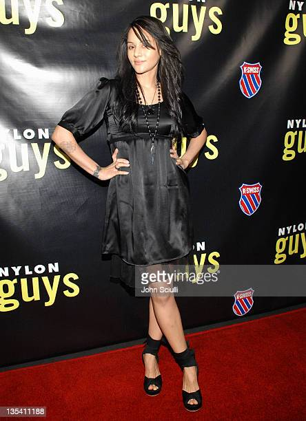 Persia White during Pete Wentz Hosts Nylon Guys Spring Launch Party at Cinespace in Hollywood California United States