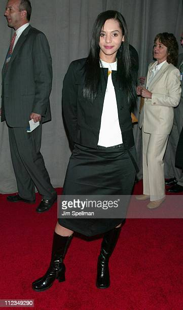 Persia White of Girlfriends during UPN 20022003 Prime Time Upfront Party at The Theater at Madison Square Garden in New York City New York United...