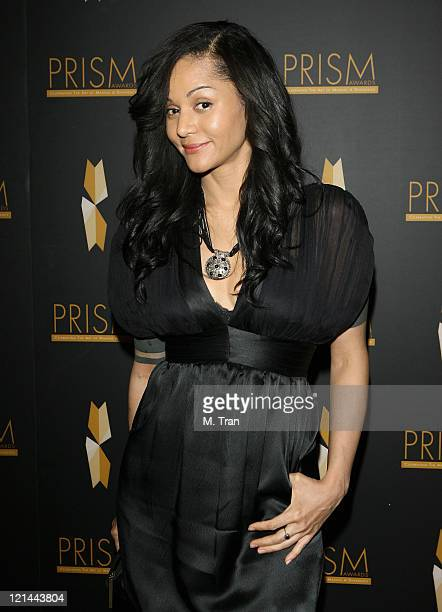 Persia White presenter during The 11th Annual PRISM Awards Press Room at The Beverly Hills Hotel in Beverly Hills California United States