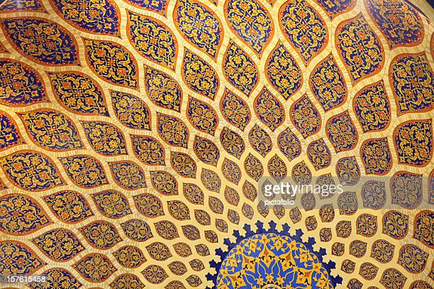 persian architecture art - persian stock photos and pictures