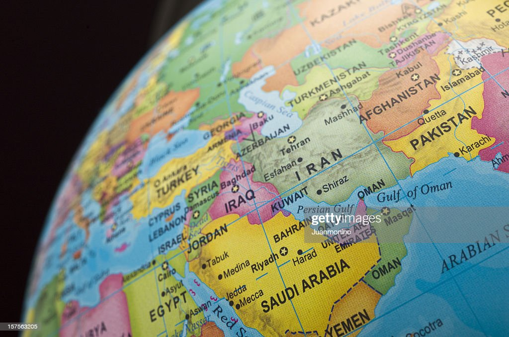 persian gulf countries : Stock Photo
