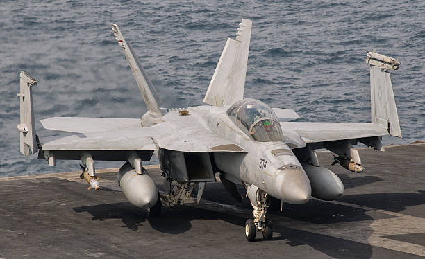 Persian Gulf, October 30, 2011 - An F/A-18F Super Hornet is ready for a mission over Iraq.